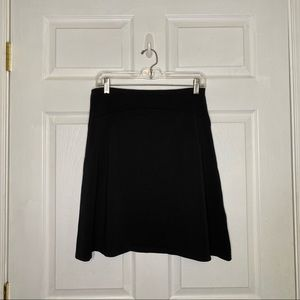PATAGONIA Black A-line Athletic Above Knee Skirt